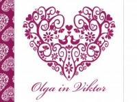Poročno vabilo Olga in Viktor
