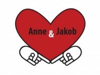 Poročno vabilo Anne in Jakob