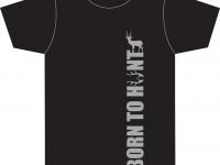 Unikaten avtorski dizajn majice BORN TO HUNT1