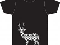 Unikaten avtorski dizajn majice BORN TO HUNT 2