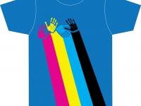 Unikaten avtorski dizajn majice MI TISKAMO BOLJE 1