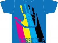 Unikaten avtorski dizajn majice MI TISKAMO BOLJE 2
