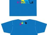 Unikaten avtorski dizajn majice MI TISKAMO BOLJE 3